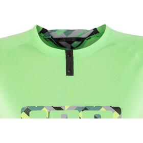 ION Traze Button Tee SS Damen grannysmith green